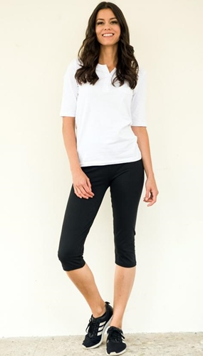 Damen Leggings Caprihose