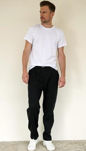 Herren Jogginghose ohne Bündchen