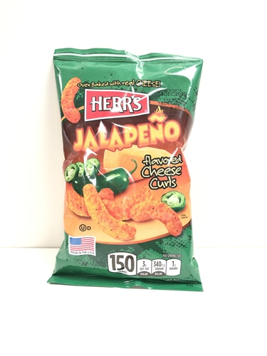 Jalapeno Cheese Curls 28,2g