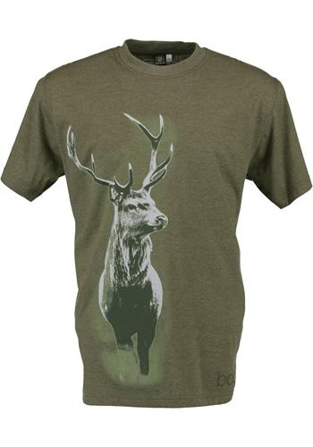 He T-Shirt 1/2 Arm m. Druck