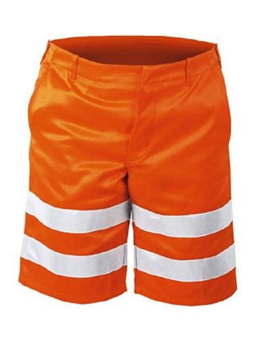 Warnschutzshorts Orange Peter