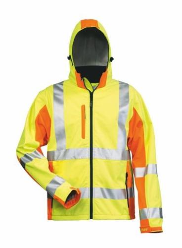 Warnschutzjacke SShell Gelb/Orange Adam