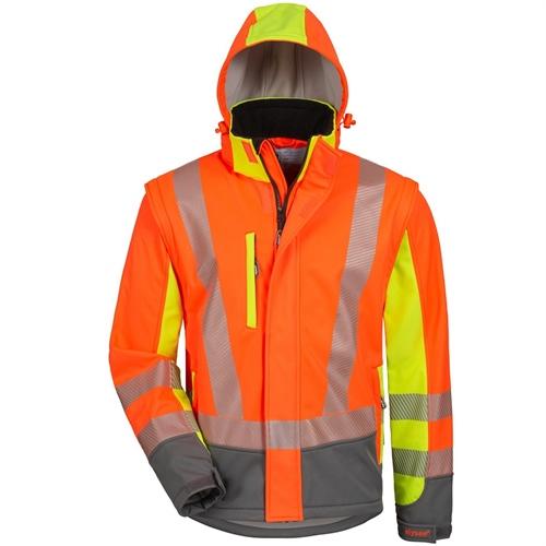 Warnschutzjacke Weste SShell Gelb/Orange