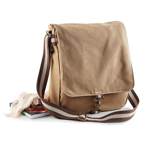 Quadra Canvas Messenger Tasche