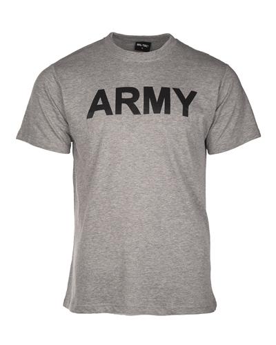 """T-Shirt """"Army"""" Grau"""