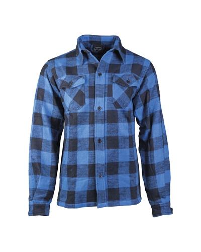 Holzfällerhemd Schwarz/Blau