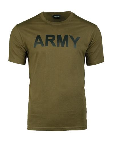 "T-Shirt ""Army"" Oliv"