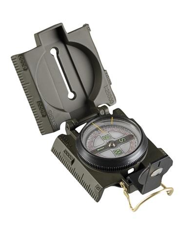 US Kompass Metall m. LED Beleuchtung