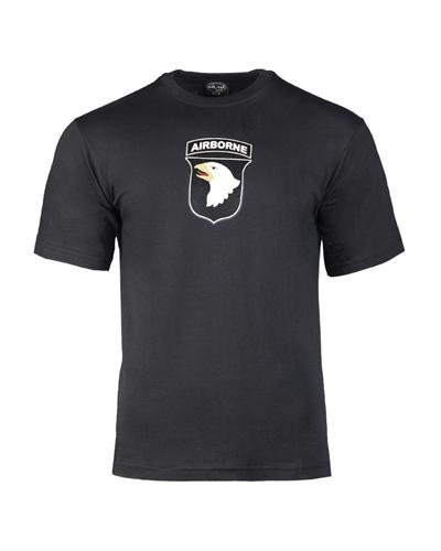 """T-Shirt """"Airborne"""" Schwarz"""