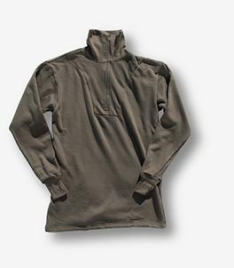 BW - Plüsch Unterhemd m. RV n.TL