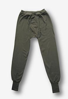BW - Plüsch Unterhose lang n.TL