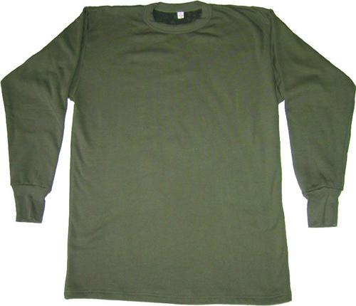 BW - Plüsch Unterhemd 1/1 Arm n.TL