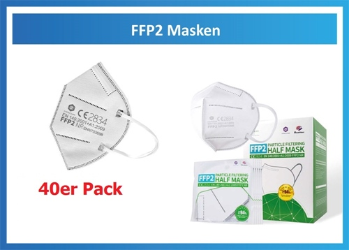 Atemmaske FFP2 NR (40er Pack)