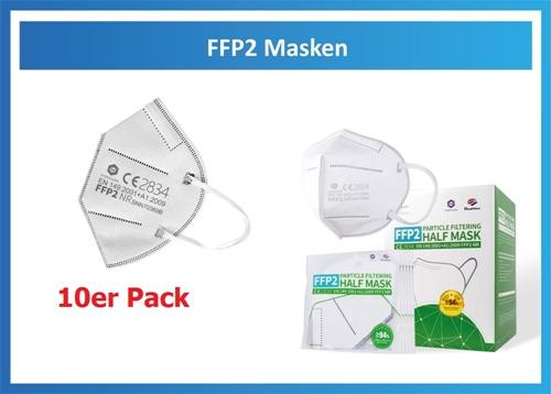 Atemmaske FFP2 NR (10er Pack)