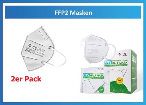 Atemmaske FFP2 NR (2er Pack)