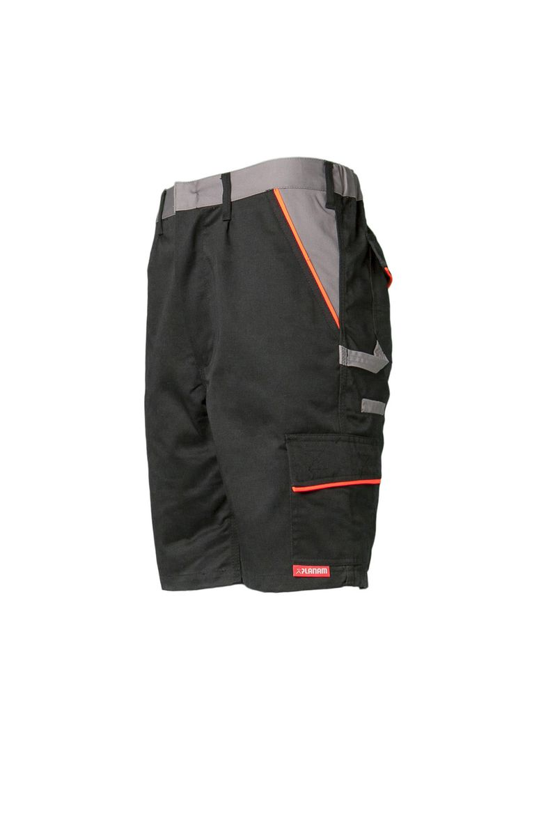 Arbeitsshorts Visline Schw/Orange