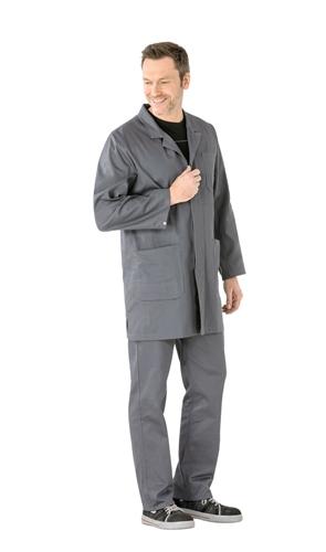 Berufsmantel BW290 Grau